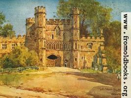 Gatehouse, Battle Abbey (wallpaper version)