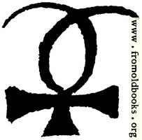 Astrological symbols for Wednesday: Planetary Sign for Mercury