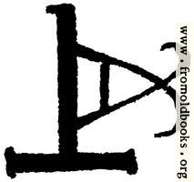 Astrological symbols for Thursday: Angelic Sigil for Sachiel