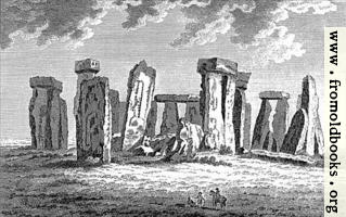 Stone Henge in Wiltshire, wide-screen version
