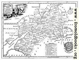 Eighteenth-Century Map of Gloucestershire