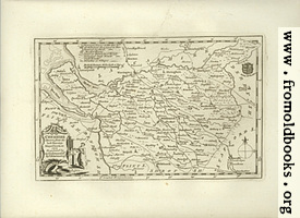Antique Map of Cheshire