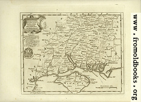 Antique Map of Hampshire