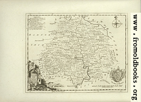 Antique Map of Herefordshire