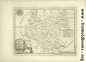 Antique Map of Leicestershire