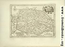 Antique Map of Norfolk