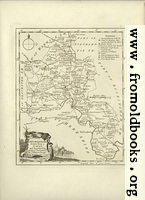 Antique Map of Oxfordshire