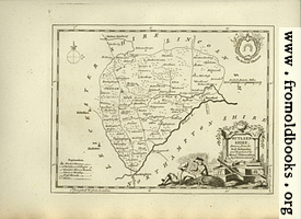 Antique Map of Rutlandshire