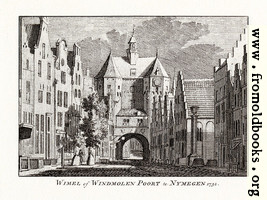 Wimel of Windmolen Poort, Nymegen