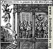 A Woman torn in pieces by the Devil. pa. 14.