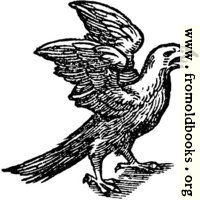 68b.—Printer's Mark Detail: feathered eagle