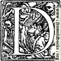 "62d.—Initial capital letter ""D"" from Dance of Death Alphabet"