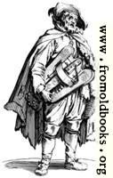 154.—Beggar with Hurdygurdy.