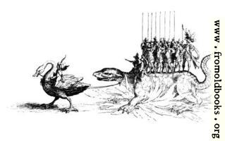 206a2: Giant bird pulling a lizard