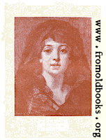 Frontispiece: A Girl's Face, after Greuze