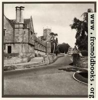 Plate 3. Chipping Campden Church and Almshouses