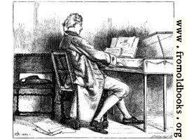 Music.—A Man at the Spinet.