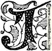 Decorative Initial Letter J