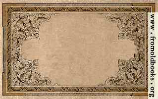 Vintage ornate border