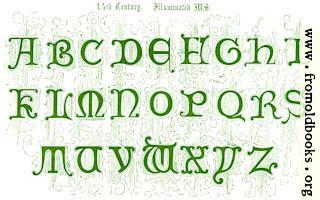 17.—14th Century Illuminated MS.