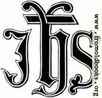 53.2.—IHS Monogram