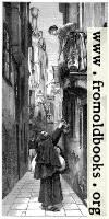 Fraile mendicante, en Venecia.