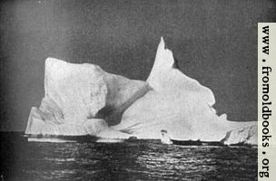 Frontispiece 1: A Titan of the polar sea lazily drifting with the current
