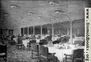 Frontispiece 2: Grand Dining Saloon—S.S. Titanic.
