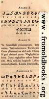 Page 8: Arabic (African); Lord's Prayer in Arabic; Armenian