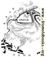 Peak Castle, Derbyshire: Plan of the Site.