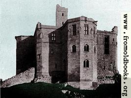 Warkworth Castle, Desktop Background Version