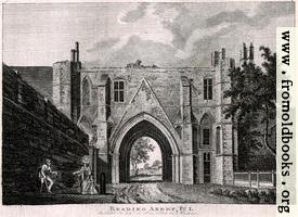 Reading Abbey, Plate 1
