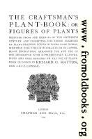 Title Page, Craftsman's Plant Book