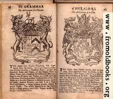 Examples: The Right Hon. Charles Townshend, Visc. Townshend; The RIght Hon. Charles Spenser, Earl of Sunderland