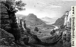 Plate 14.—The Wye at Aberedwy.