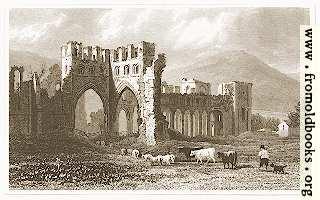 Plate 23.—Llanthony Abbey.