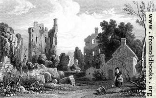 Coity Castle, Glamorganshire