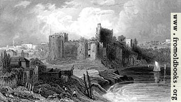 62.—Chepstow from the bridge.