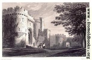 Plate 65.—Entrance to Beaumaris Castle.