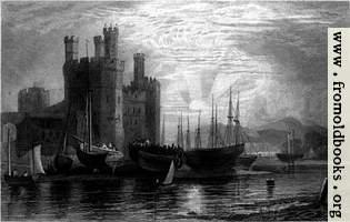 Plate 72.—Caernarvon Castle
