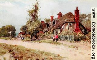 Long Wittenham, Oxfordshire (Wide-screen background version)