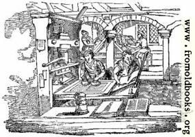 1134.—Ancient Printing-office
