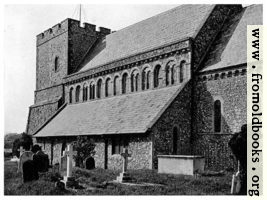 43. St. Margarets at Cliffe, Kent, with its Normon clerestory [exterior view]