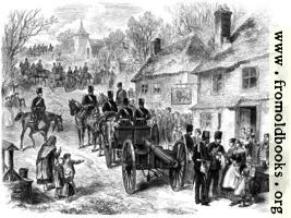 The Easter Volunteer Review: The 1st Artillery on the March from London to Brighton