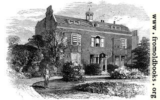 Gadshill Place, Home of Charles Dickens.