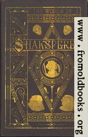 Front Cover, Biography of Shakespeare