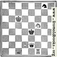 White Pawn (Alice) to play, and win in eleven moves.
