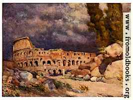 The Colosseum in a Storm