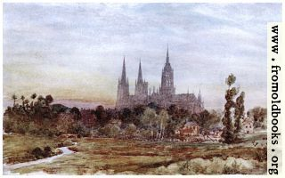 Bayeux from the Meadows