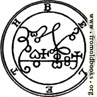 13. Seal of Beleth (second version).
